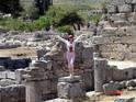 Развалины древнего Коринфа
