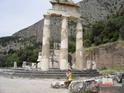 Дельфы. Все что осталось от храма Афины