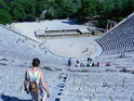 Театр в Эпидавросе. Вид сверху