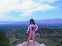 На панораvной точке в Микенах