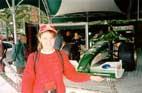 Фотография из Монцы возле стенда Ягуара
