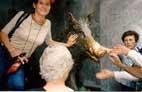 Ритуальная статуя вепря