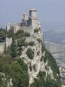 Одна из двух крепостей в Сан-Марино