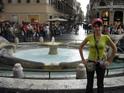 Площадь Испании, фонтан Лодочка