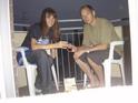 Прощальный ужин на балконе в отеле