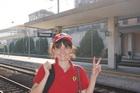 На вокзале в Монце