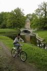 Я, велосипед и мостик