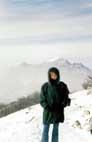Вид с горы Машук на гору Бештау