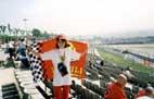 Я с флагом на трибуне G