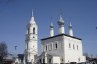 Одна из многочисленных Суздальских церквей