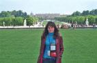 Вид на дворец из парка. Версаль