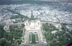 Дворец Шайо с Эйфелевой башни