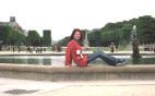 Маленький фонтанчик в Люксембургском саду