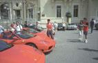 Целых 3 Феррари перед Казино Монте-Карло