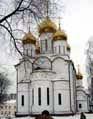 Вновь отстроенный храм на территории женского монастыря в Переславле-Залесском