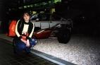 В музее есть даже гоночные машинки