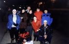 Группа провожающих на вокзале в Краснодаре