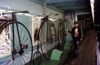 Огромные велосипеды в политехническом музее